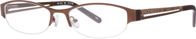 chelsea morgan brown oval frames for women visionworks