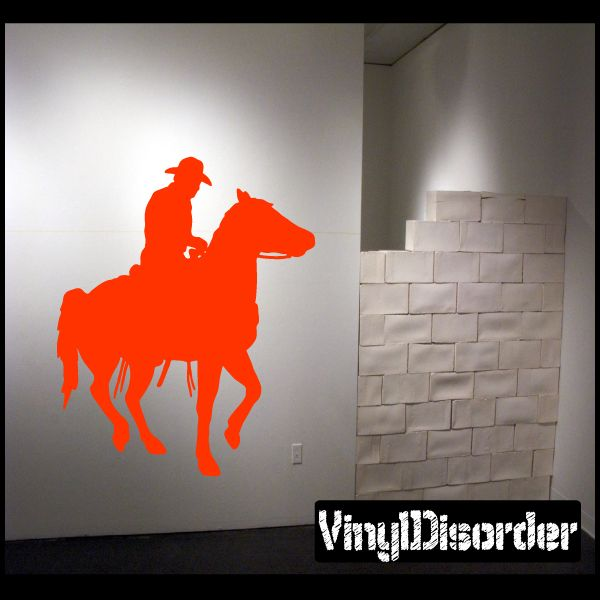 Horse Wall Decal - Vinyl Decal - Car Decal - NS003