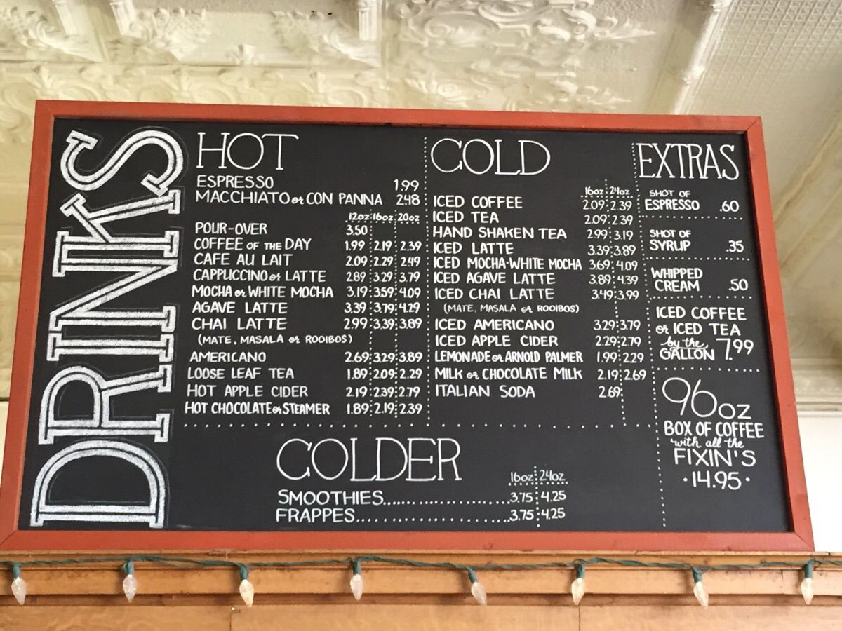 Pin By Jessica King On Church Ideas Coffee Shop Menu Coffee Shop Menu Board Diy Coffee Bar