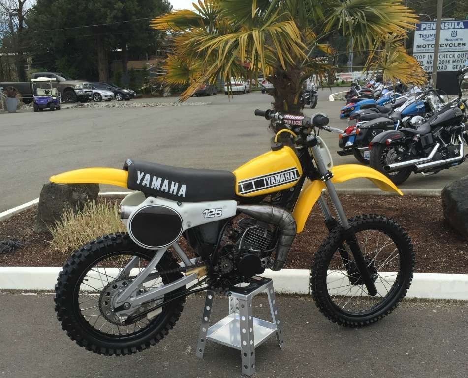 1980 Yamaha Yz 125 Yamaha Yz 125 Vintage Motocross Yamaha Bikes