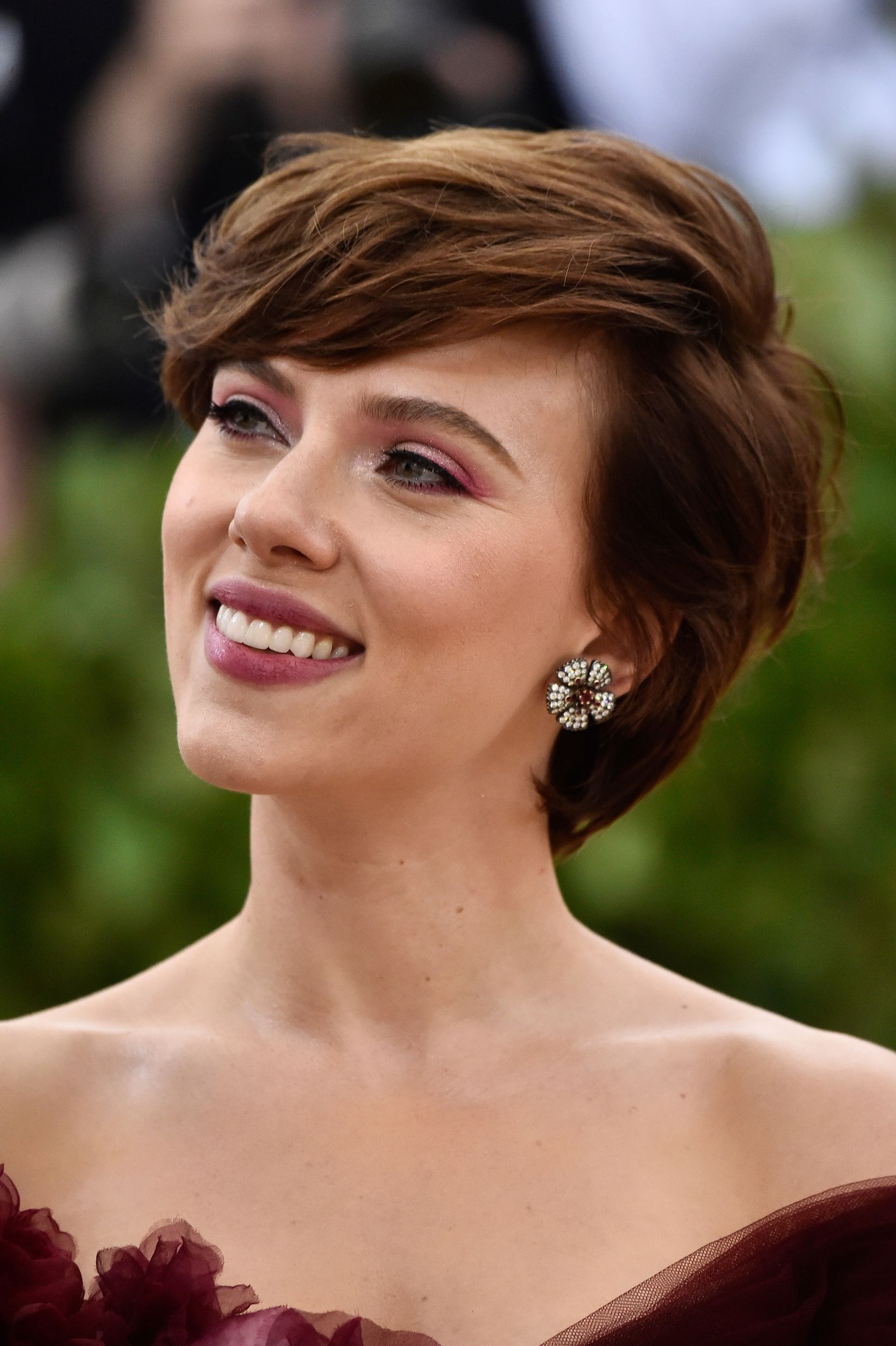 Photo of Scarlett Johansson was the first star to wear a Marchesa dress since the Harvey Weinstein scandal