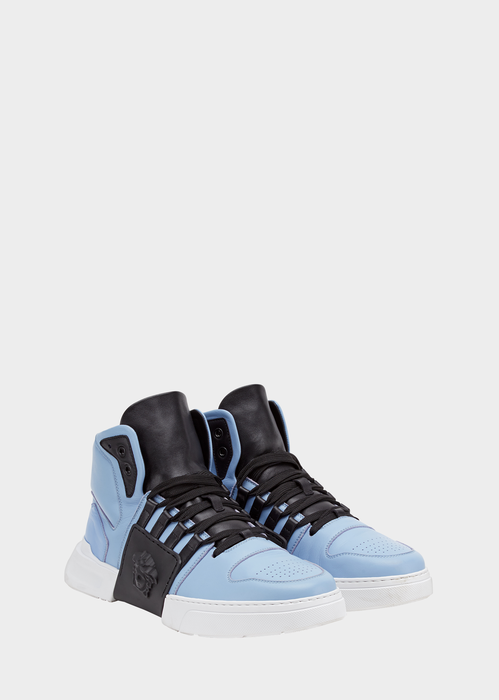 bf7e19b311 Lateral Medusa High-top Sneakers for Men. #Versace | wants ...