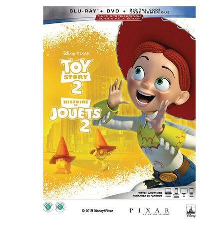 Disney Toy Story 2 2-Disc Multiscreen Edition (Bd+Dvd+