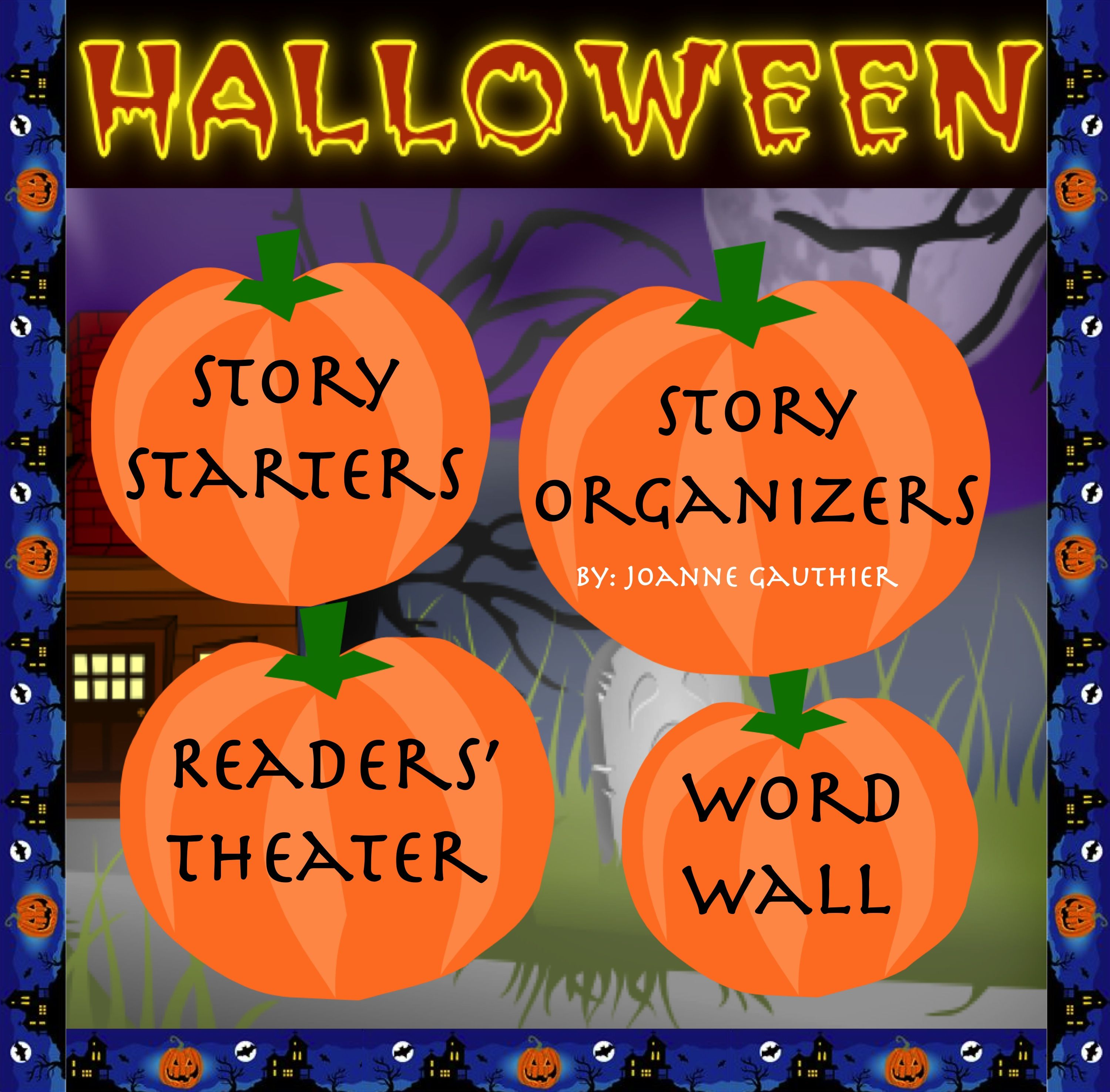 Halloween Story Writing And Readers Theater
