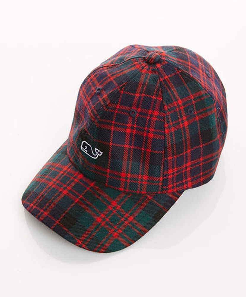 f2401d21c2 A tartan wool baseball hat is the perfect blend of holiday & casual ...