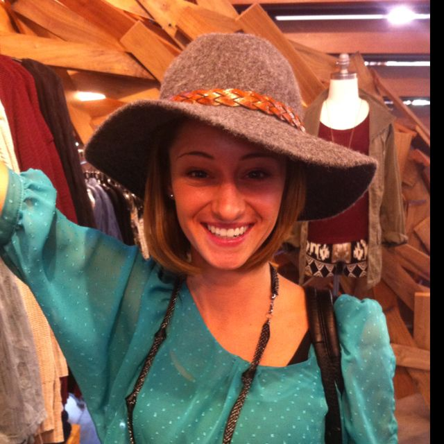 Loved this hat from American Outfitters