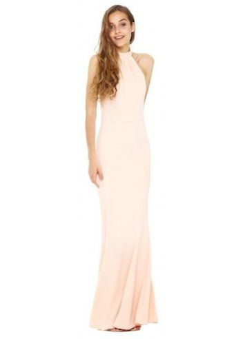 Jarlo Caden Peach Halter Neck Maxi Dress | Ideas | Pinterest ...
