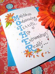 Image Result For Easy Birthday Cards For Mom Gift Ideas Mom