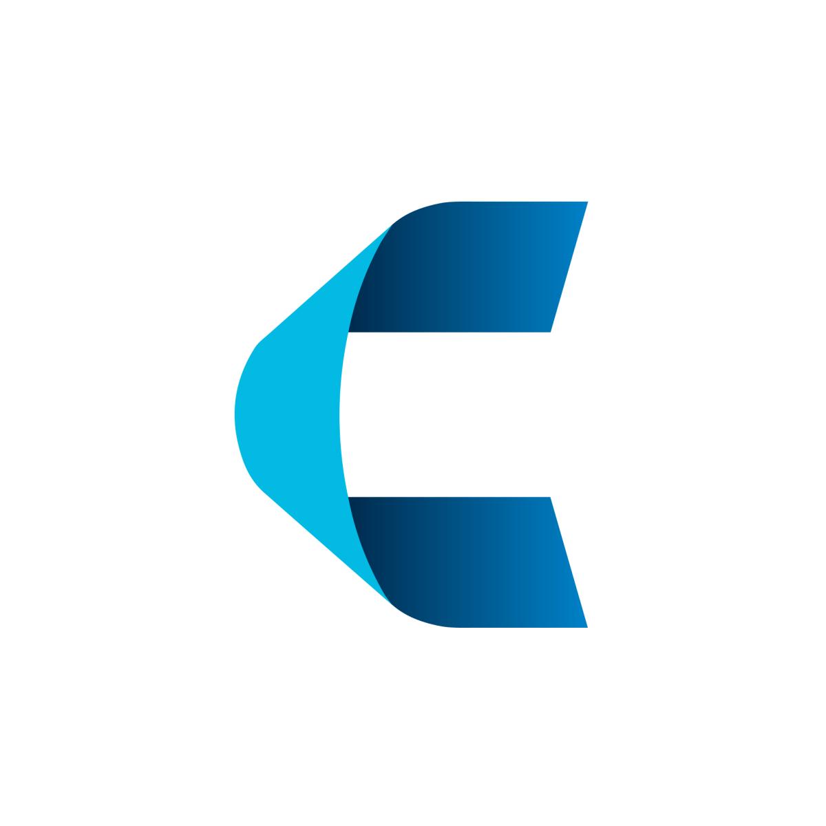 Canter Logo United States Single Letter Logo Letter Logo Lettering