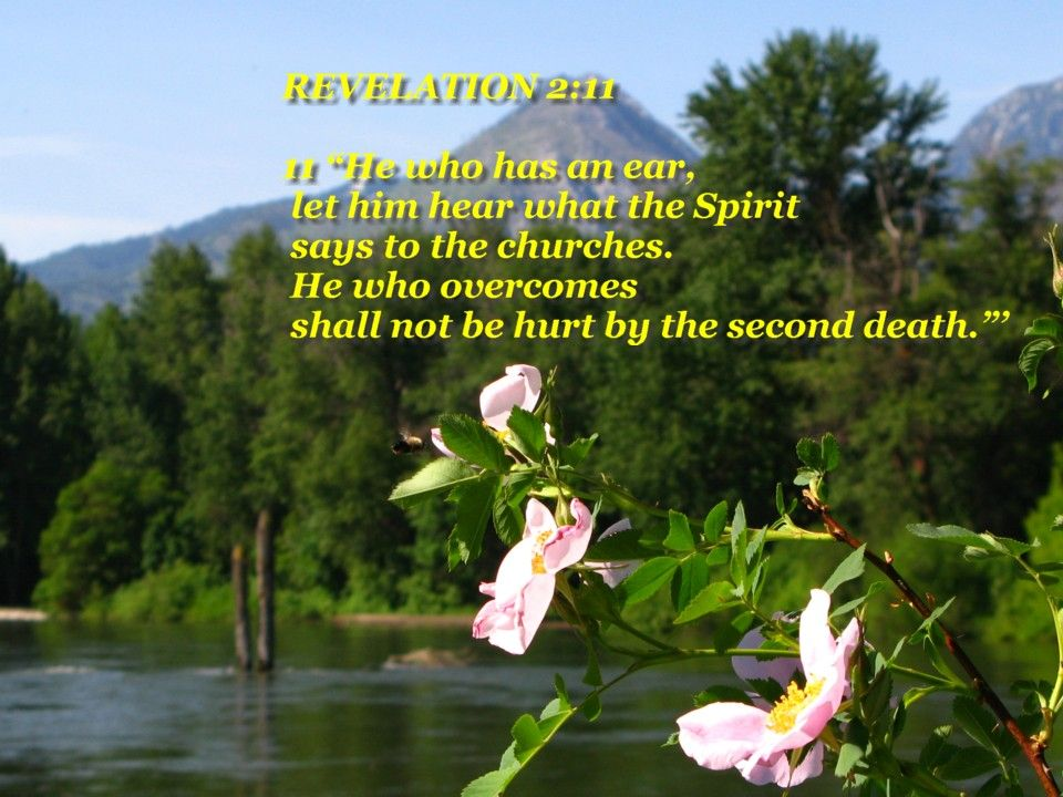 death and hades tossed into lake commentary | REVELATION 2:11 > TODAYS KEY WORDS> HE WHO OVERCOMES >