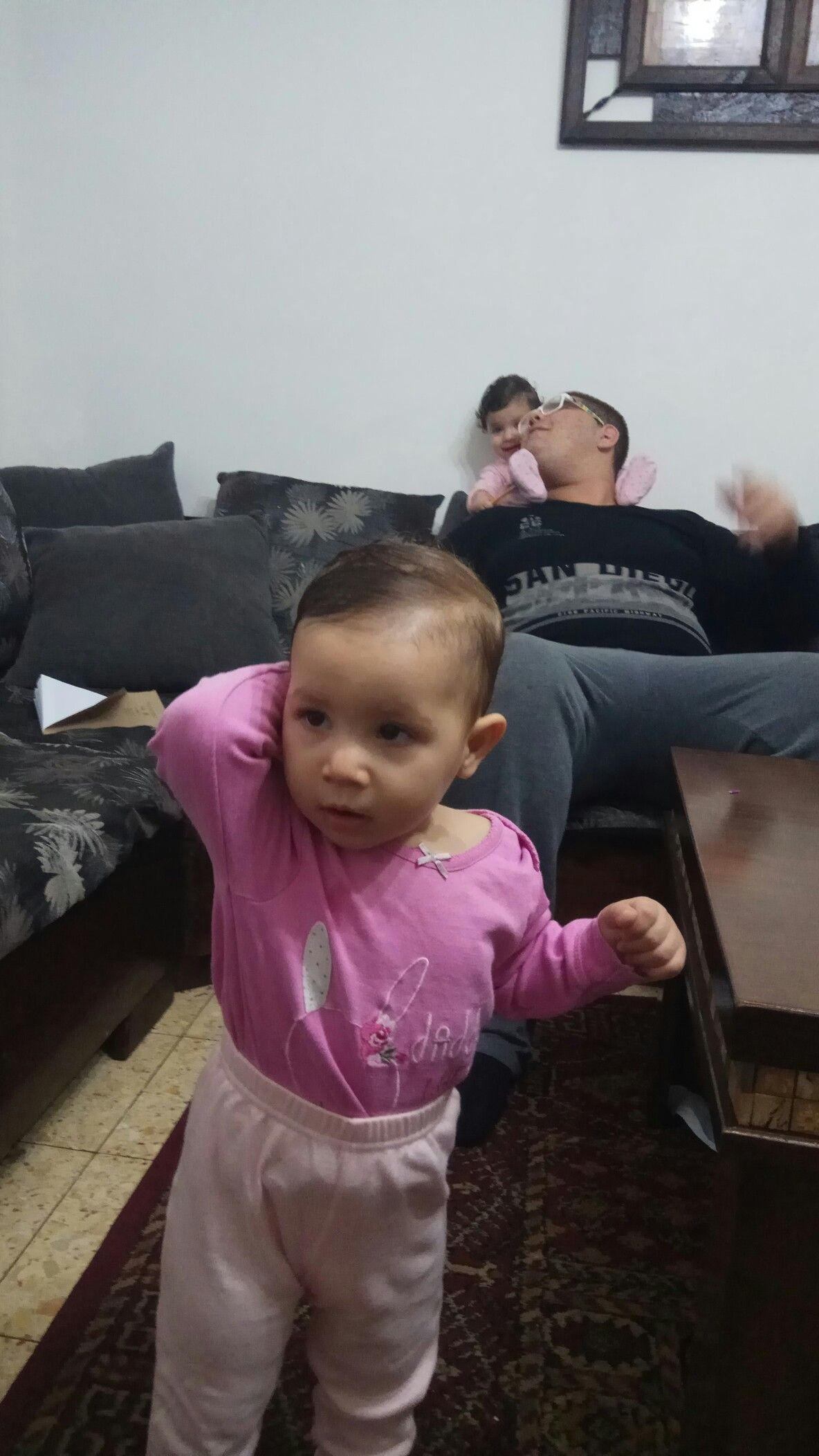 هاجر احمد عارف Baby Face High Chair Home Decor