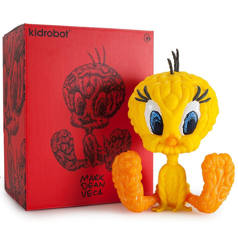 KidRobot 8 Vinyl Tweety Bird by Mark Dean Veca RED