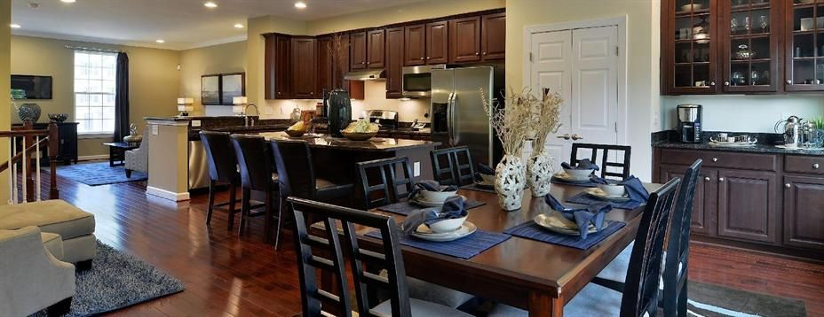 Big Open Kitchen Ryan Homes Home Model Homes