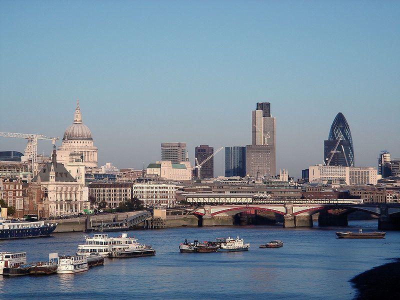 Londín hlavné mesto Anglicka