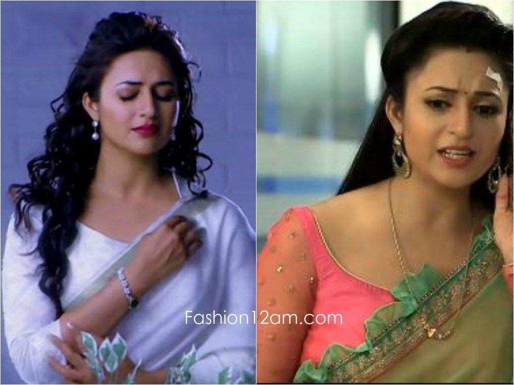 a8abc5568b83cf Divyanka Tripathi Blouse designs - Yeh Hai Mohabbatein | tiya in ...
