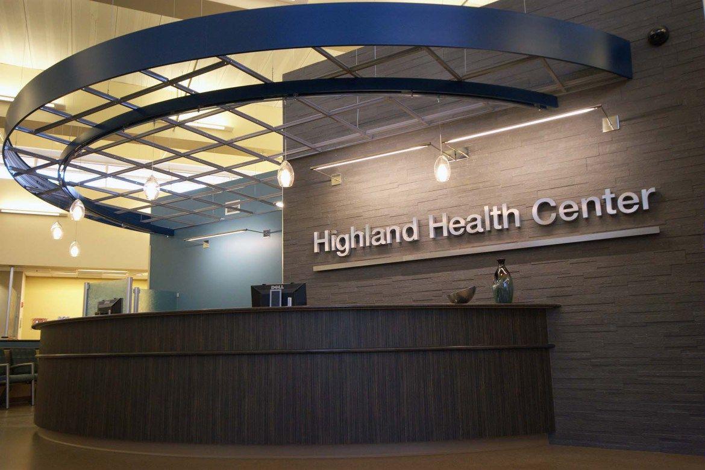 Healthcare architecture interior design project