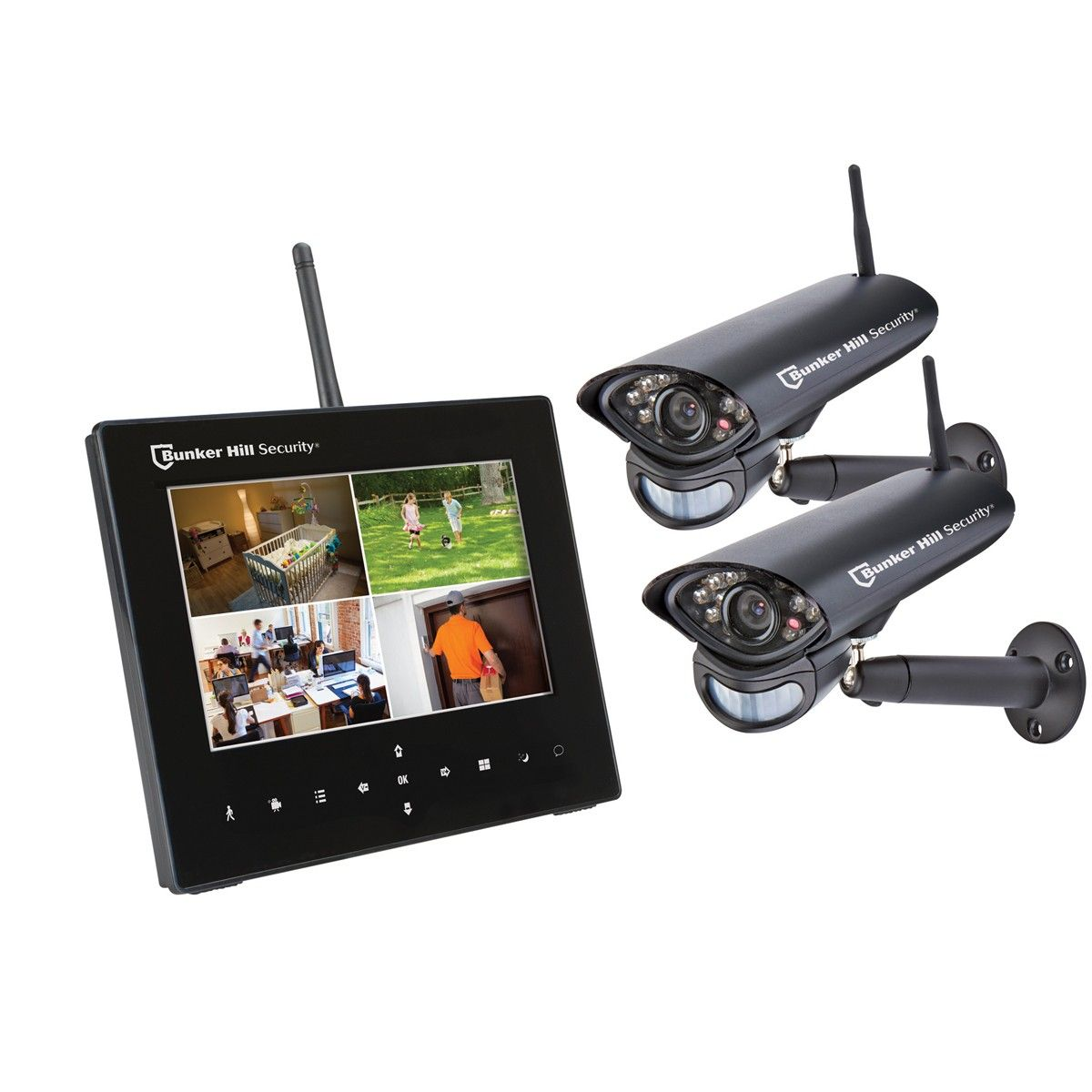 Enchanting Wireless 4 Camera Surveillance System Mold - Electrical ...