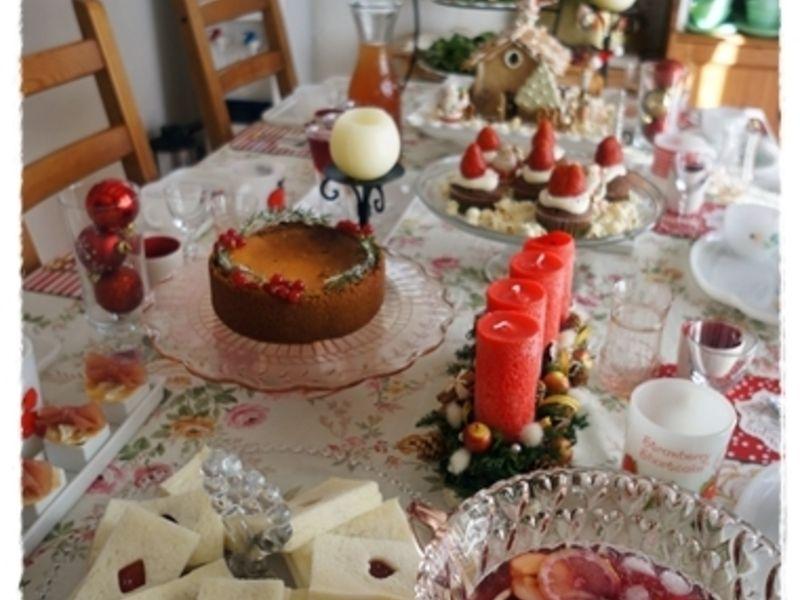 乙女のクリスマスティパーティ2014*テーブルコーディネートレッスン