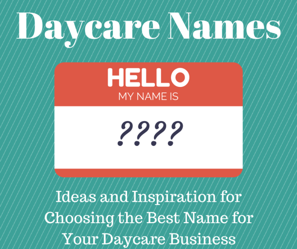 Daycare Names | Daycare names Starting a daycare Opening ...