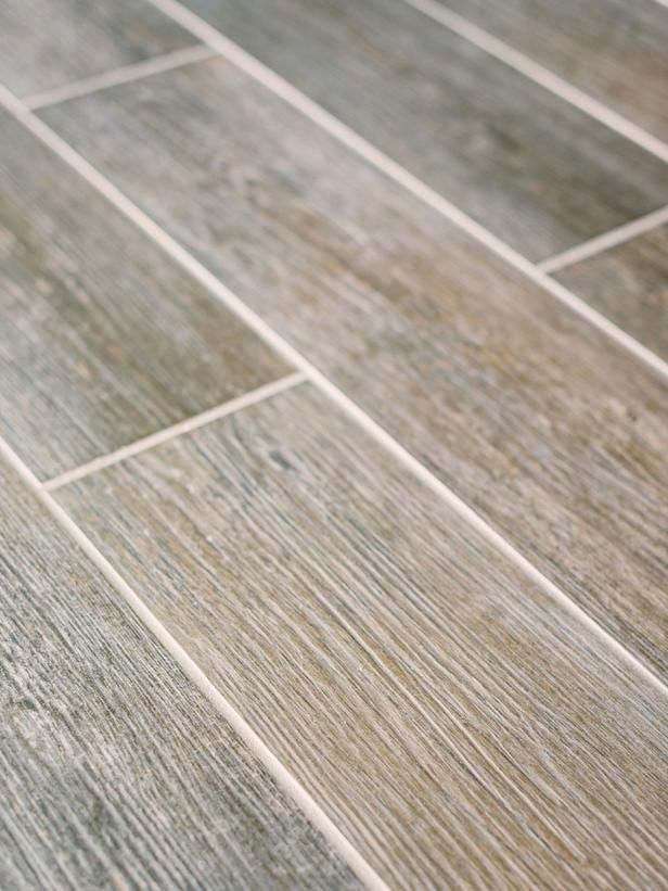 Porcelain Wood Plank High Impact Low Maintenance Basement