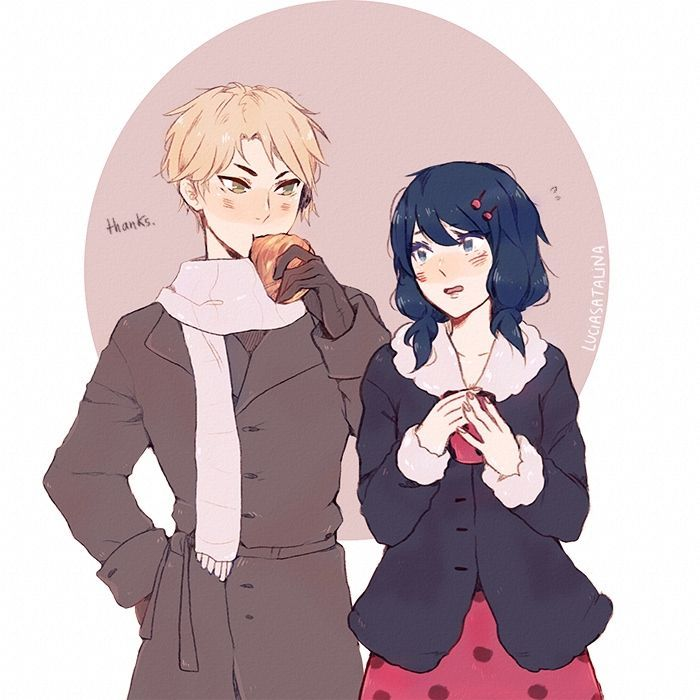 adrien x marinette fanfiction - Google Search | Miraculous