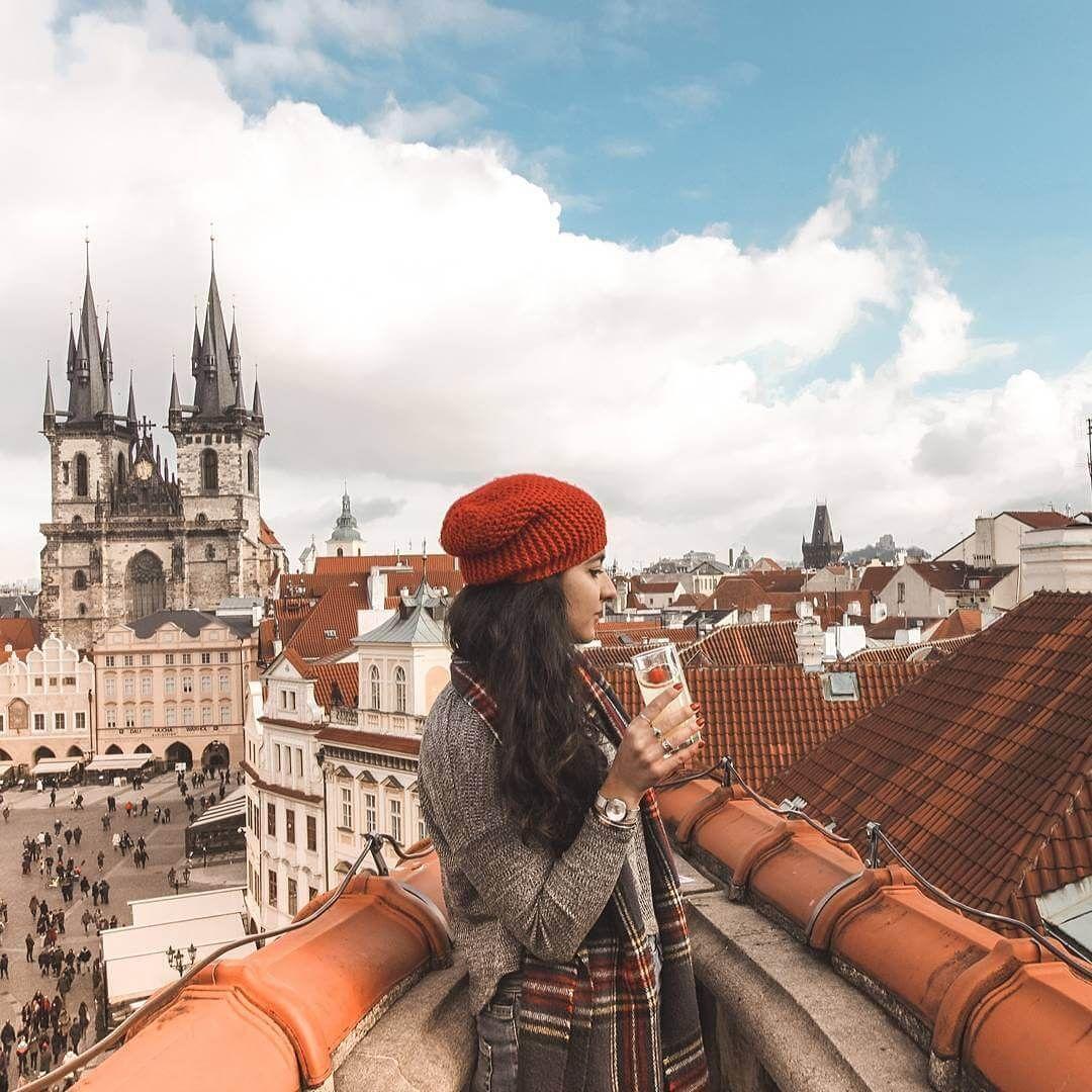 Rooftop Bar Terasa U Prince In Prague Prague Travel Prague Photography Prague Photos