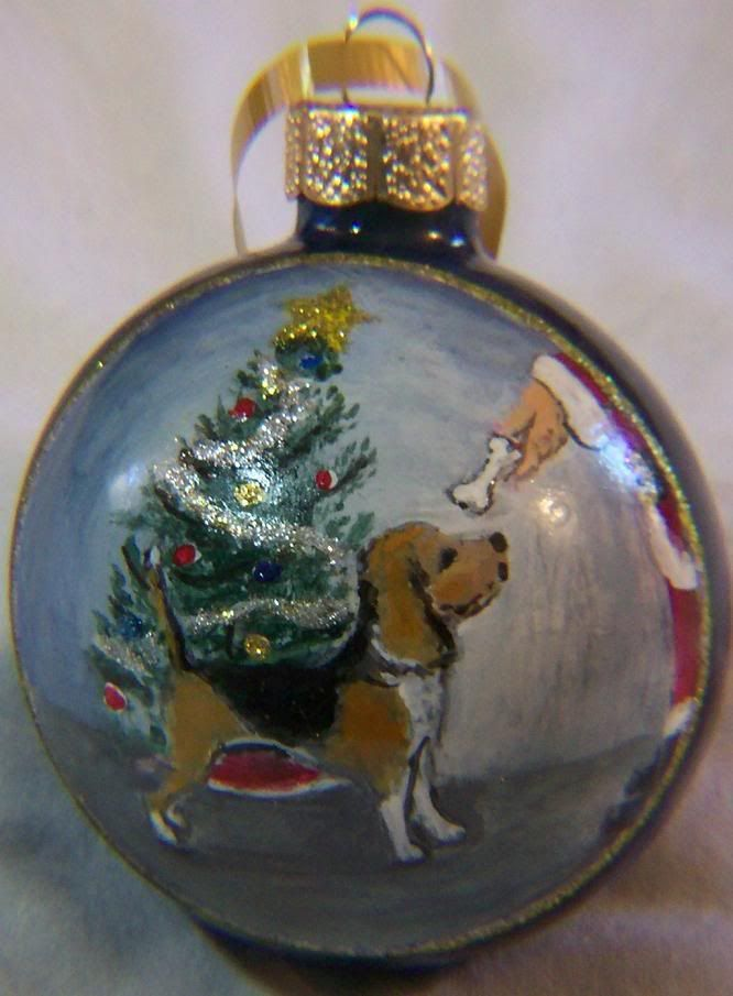 hand painted christmas baubles google search