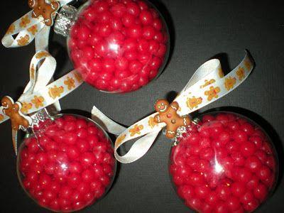 So cute-little gingerbread ornaments