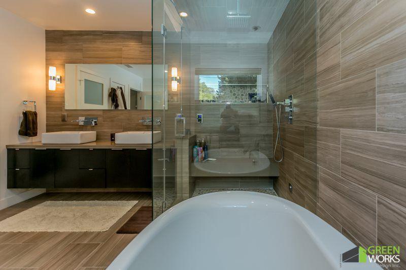 How Long Does Bathroom Remodeling Take Greenworks Construction Remodeling Renovation Home Remodeling Bathrooms Remodel