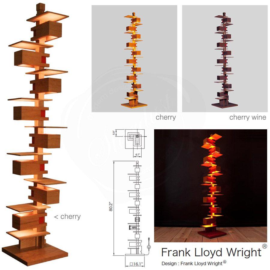 Taliesin floor lamp plans floor matttroy for Frank lloyd wright flooring