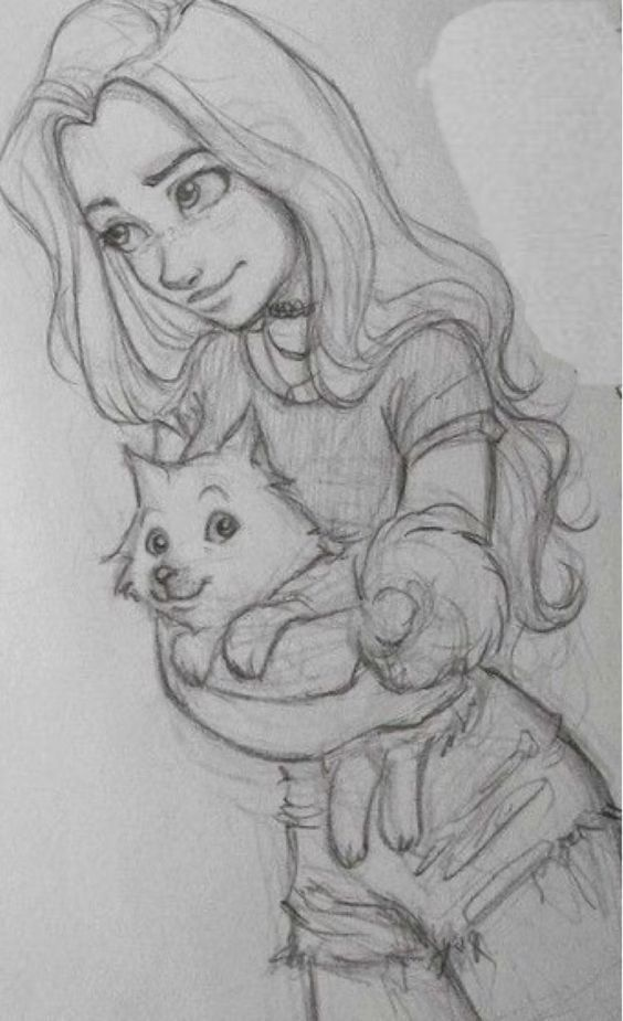 #Mädchen #Ziehen #Kunst #Katze – #drawing #Katze – Sonja Weihermann katz eund hund Blog