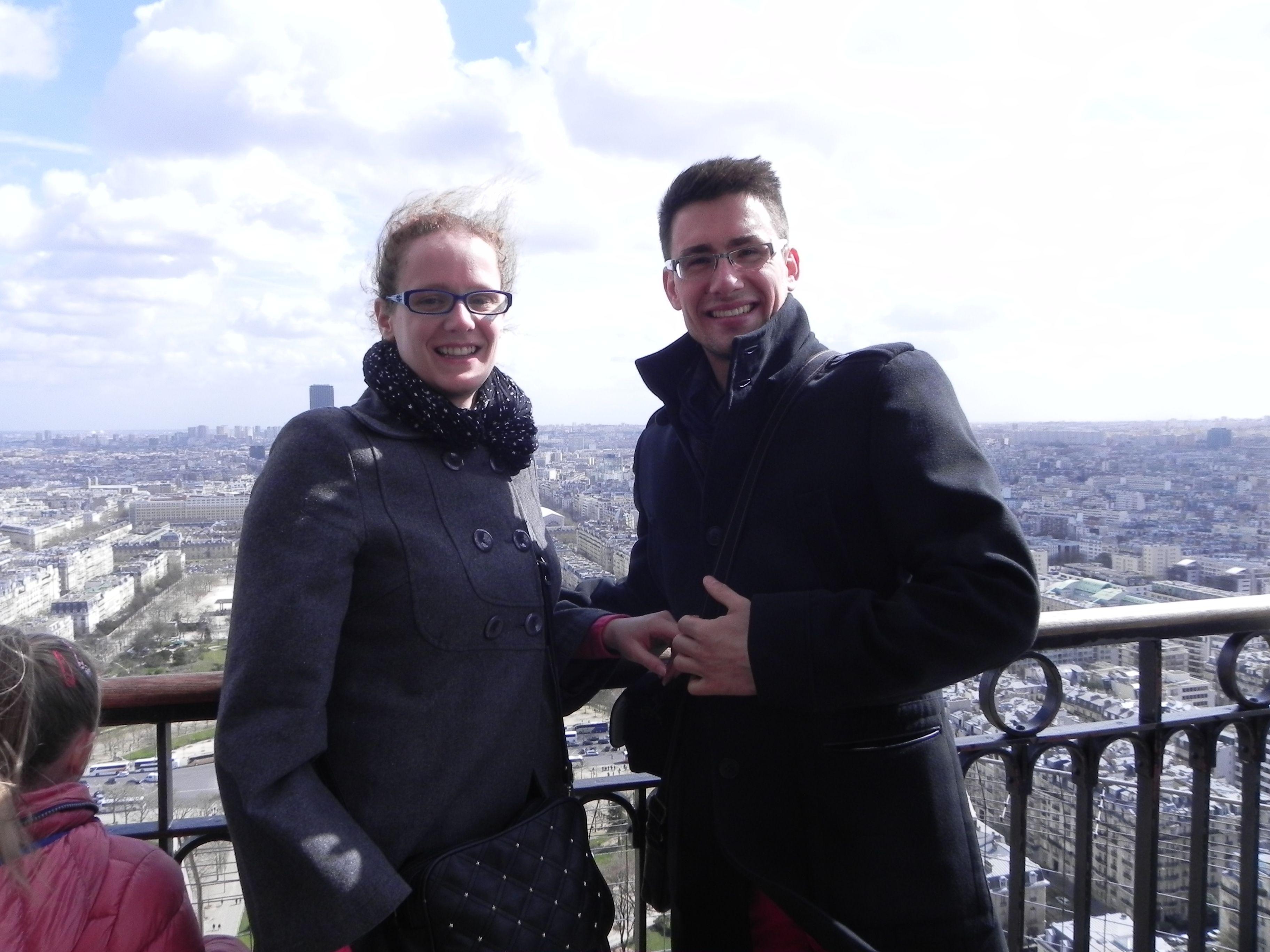 Vue du 2e de la Tour Eiffel