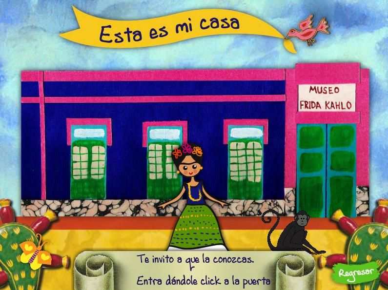 click - Visita la Casa Azul. Museo Frida Kahlo | Español de ...