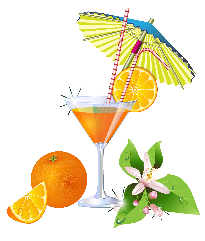 Summer Orange Cocktail PNG Clipart | Png | Pinterest
