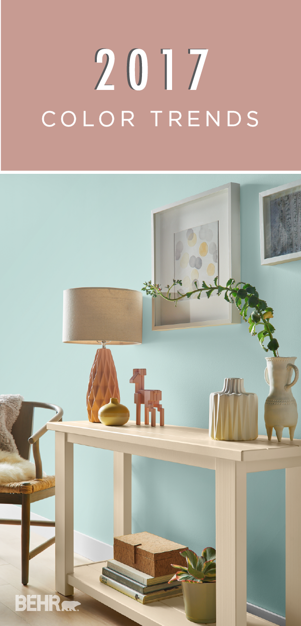 When your home could use a much needed style makeover the - 2017 pantone view home interiors palettes ...