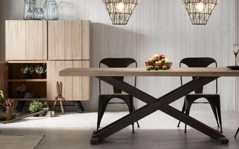 Comedores vintage y sillas negras casa Pinterest