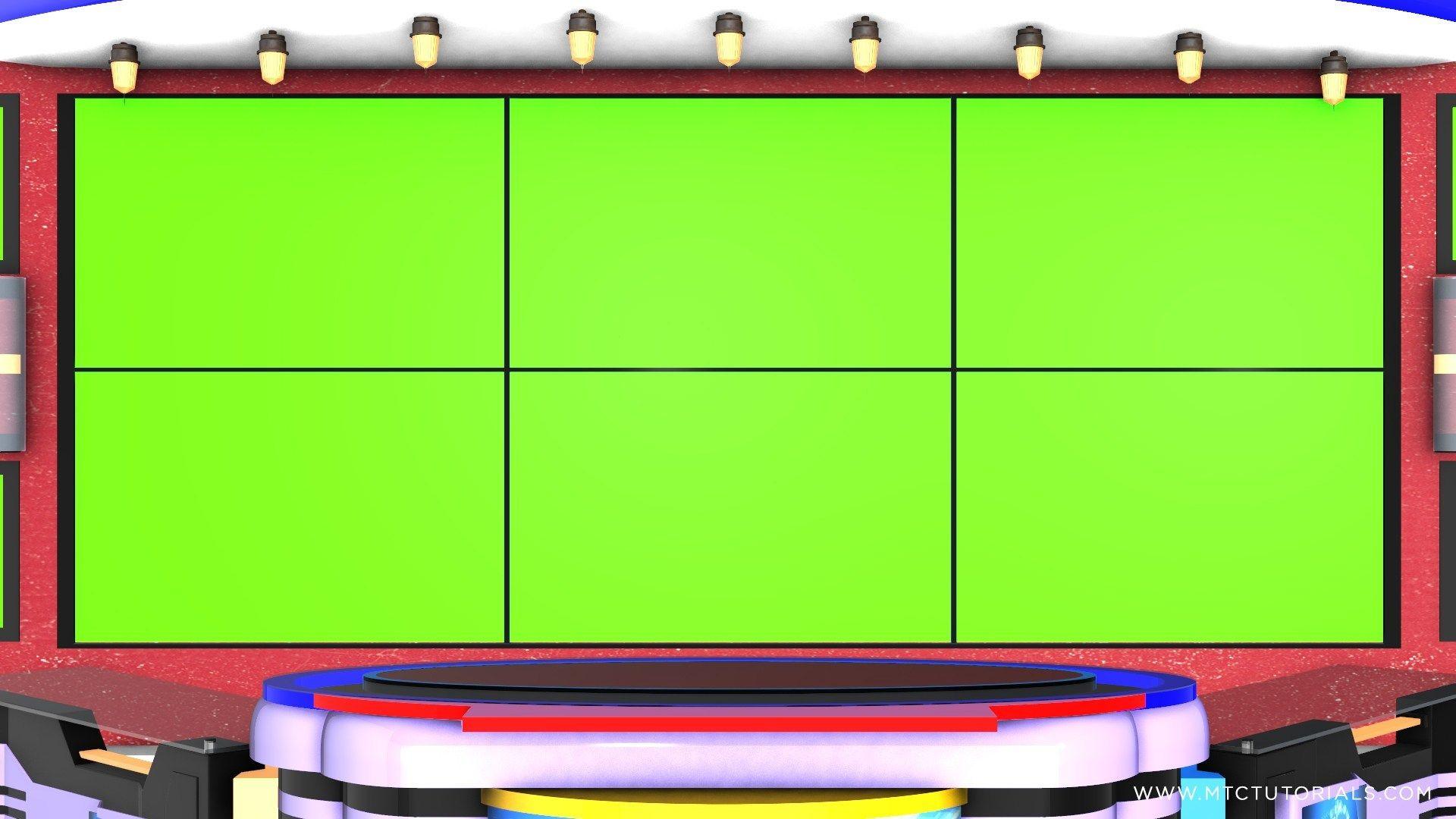 Download Free Green Screen Virtual Studio News Desk Mtc Tutorials Virtual Studio Free Green Screen Greenscreen
