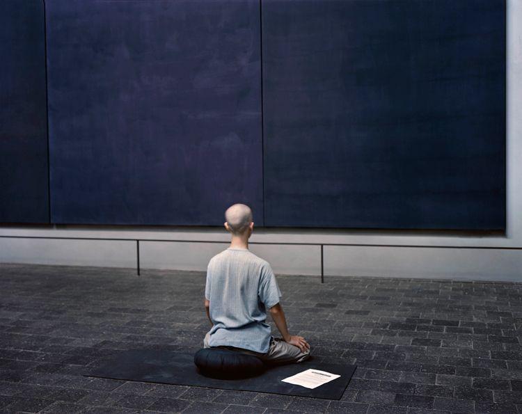 Risultati immagini per rothko chapel meditating
