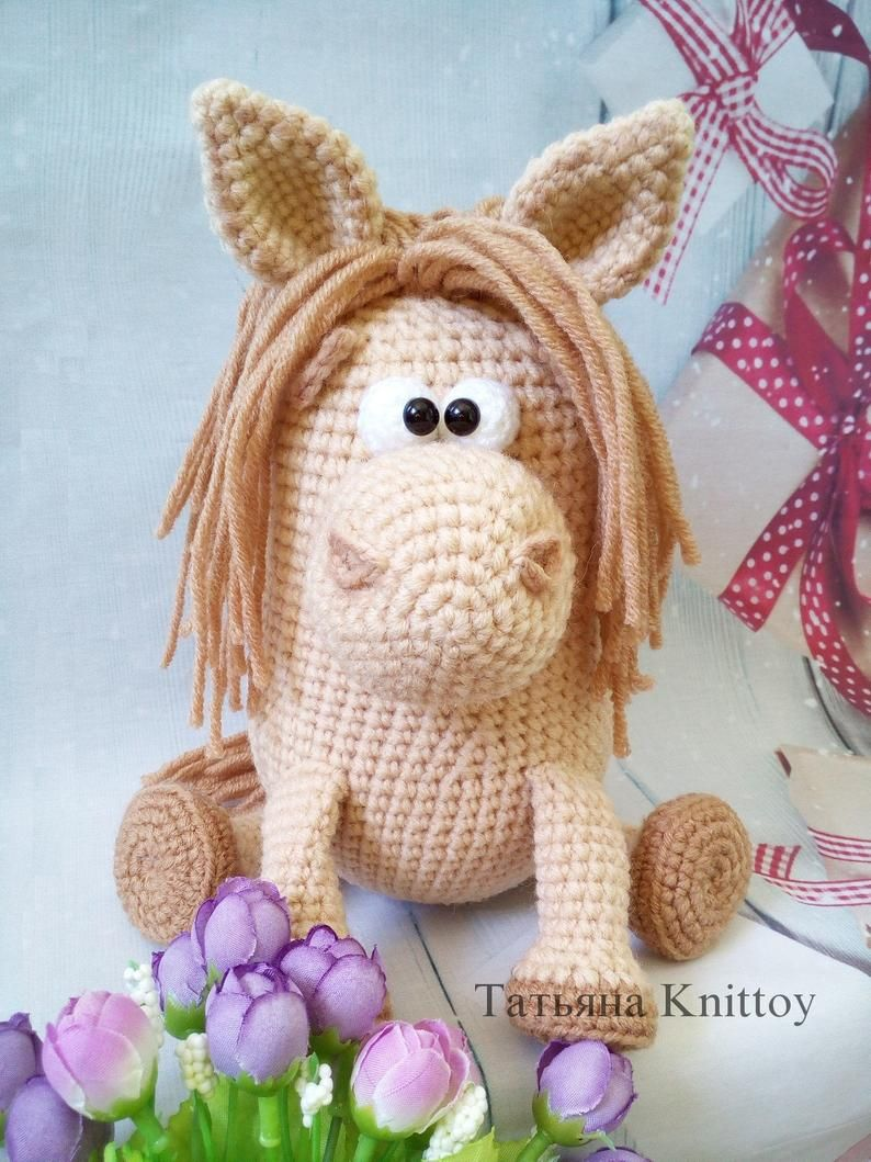 Horse Crochet Pattern Amigurumi Horse Toy Pony Crochet Toy Pdf Tutorial Pony Toy Crochet Pattern In 2021 Crochet Horse Crochet Toys Patterns Crochet Patterns