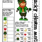Lucky Charm Math for Little Ones  Lory's Page  A 1/2 cup of Lucky Charms, a 1/2 hour of classtime and you'll have a fun, math review for your students including   graphing,sorting addition, subtra...