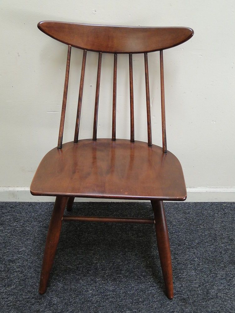 mid century executive side chair