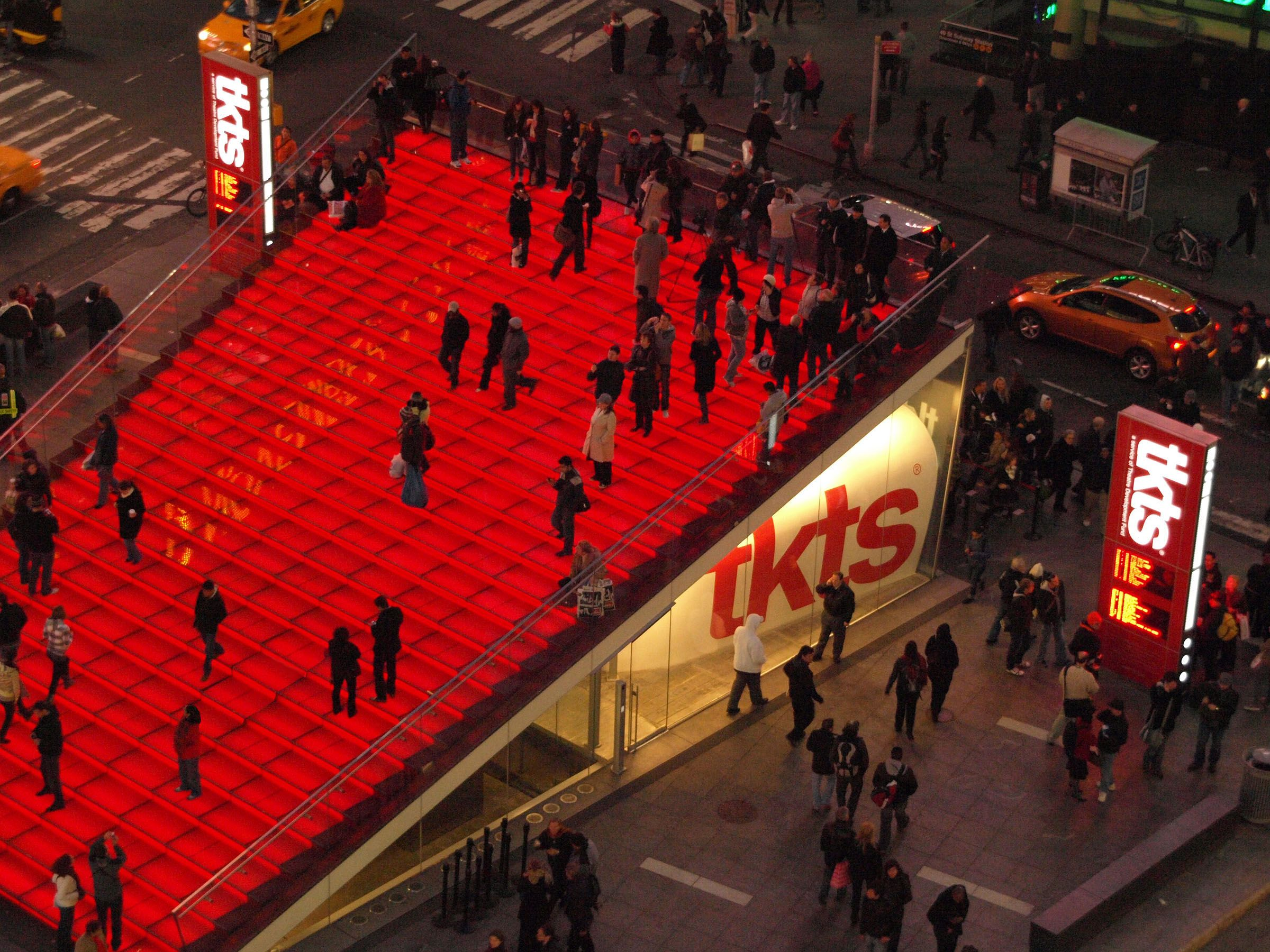Times Square TKTS booth what to do in midtown manhattan faviana