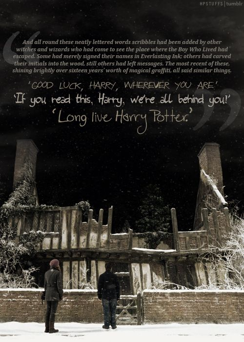All The Messages On The Gate Of Harry S House At Godric S Hollow Harry Potter Facts Harry Potter Love Harry Potter Friends