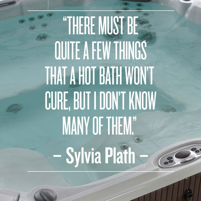 Well known We agree. There's nothing like taking time to unwind in a hot tub  LH73