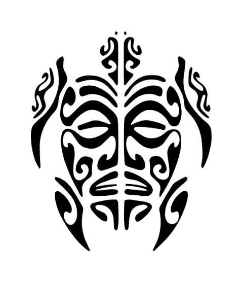 Dessin Tiki Tahitien Recherche Google Calebasse Tattoos