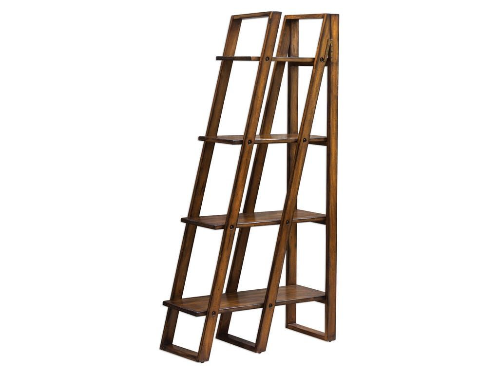Uttermost Cacey Wood Etagere 25711