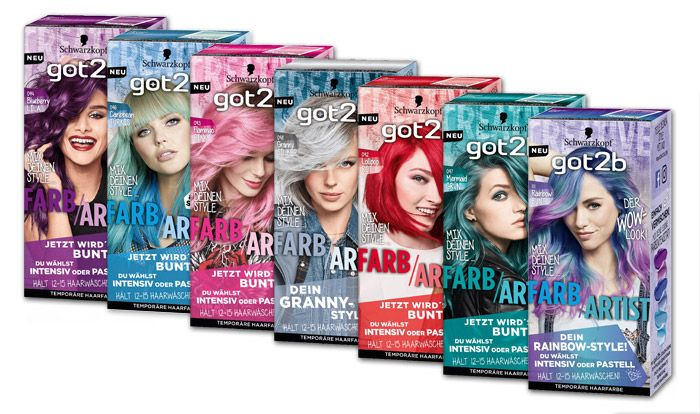 Schwarzkopf Got2b Launched New Ligtheners And Colorations German Drugstore Got2b Hair Products Soft Grunge Hair Summer Hair Dye