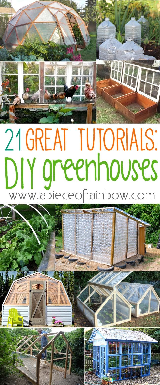 21 diy greenhouses with great tutorials diy greenhouse rainbows