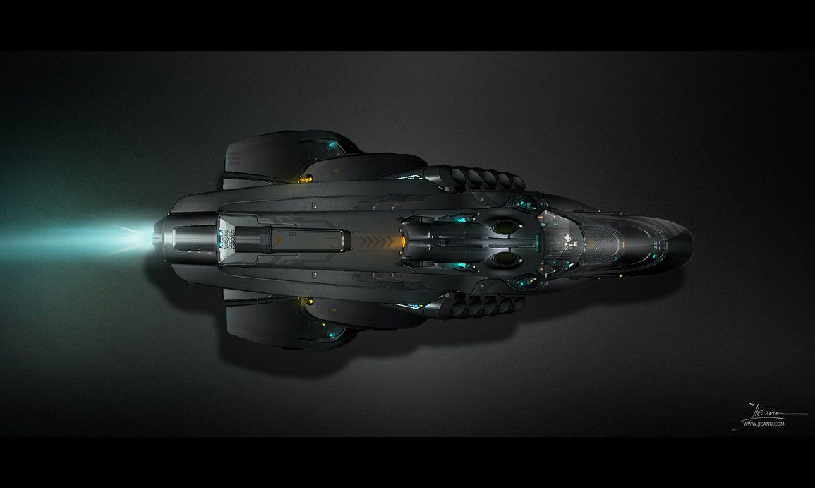 Black themed spaceship conceptual artwork and wallpapers 1 design - Fi Sci Spaceship Concept Art Spaceship Concept By Max4ever