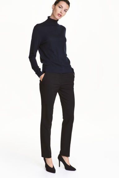 c437cb54f Pantalón de traje - Negro - MUJER